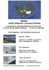 """ISLAND  -  """"weiße Gletscher- schwarze Strände"""""""