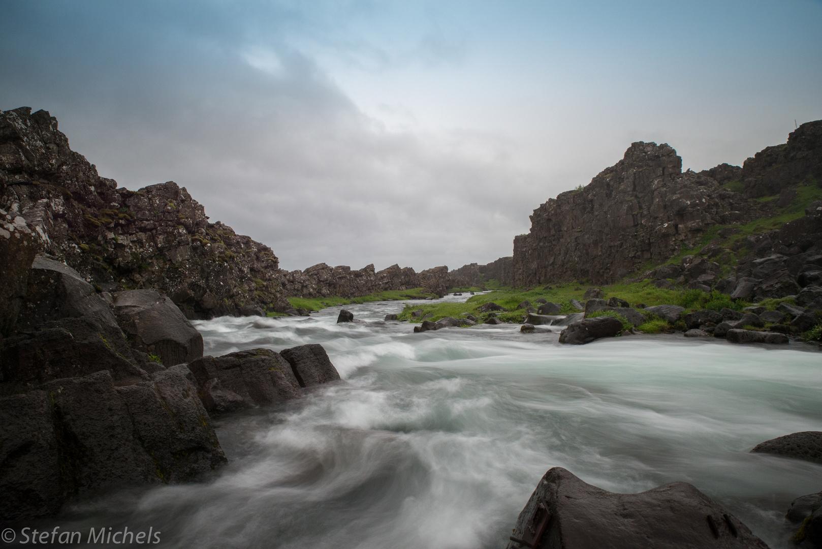 Island zeitloses Wasser