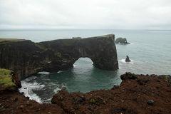 Islands Süden: Das berühmte Felsentor, Dyrhólaey