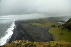 Islands Südküste aus 100 m Höhe