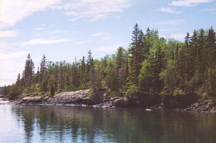 Isle Royale National Park, Michigan, U.S.A.
