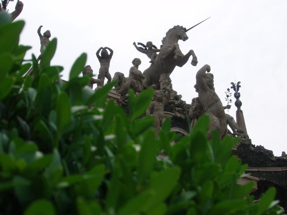 Isola Bella - Giardino e Statue