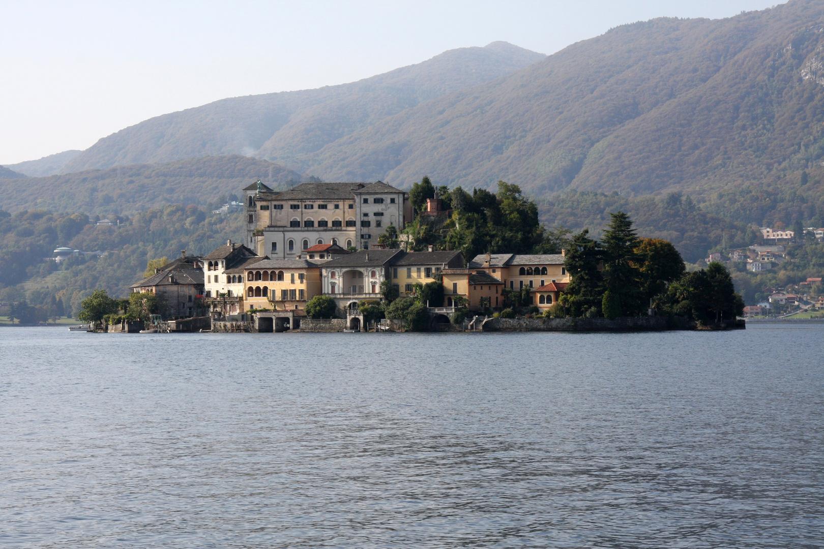 isola s. giulio - lago d'orta