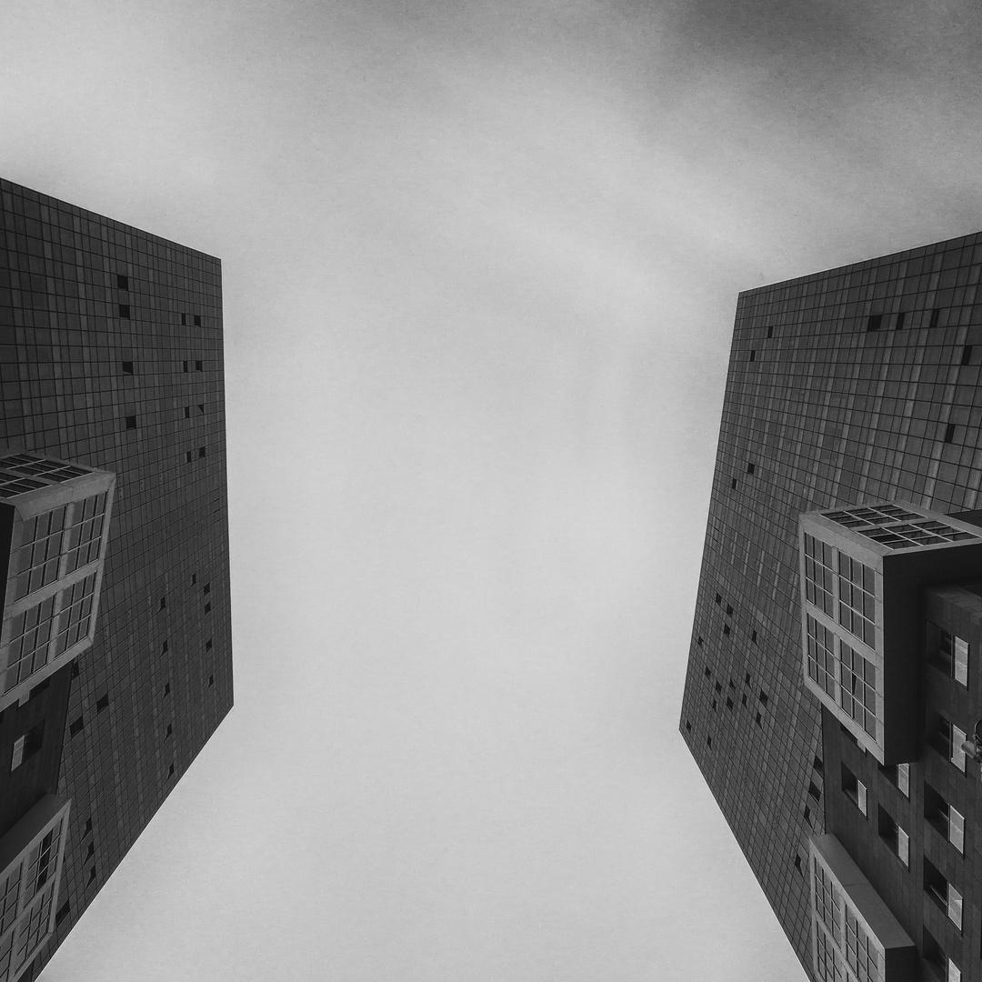 Isozaki towers