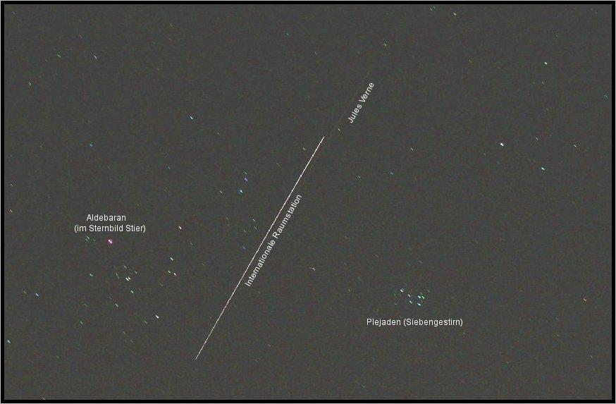 ISS und JULES VERNE