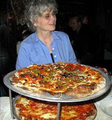 Ist das nicht etwas viel Pizza?