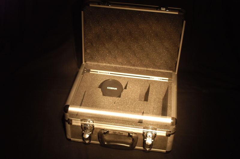 Ist der Koffer zu ?