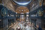 Istanbul # 2 -  Hagia Sofia Innenansicht