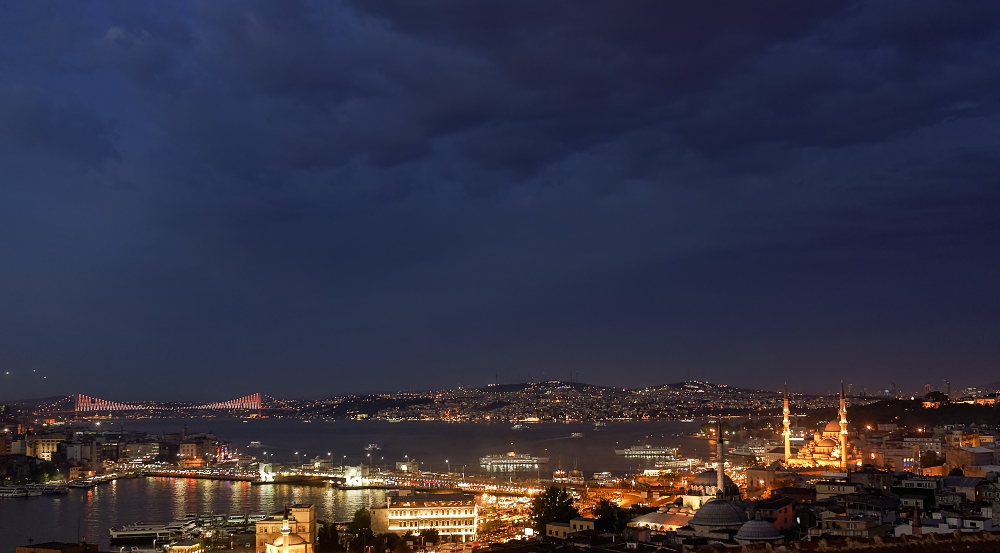 Istanbul am Abend