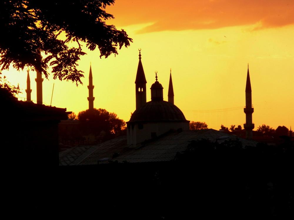 Istanbul am frühen Abend