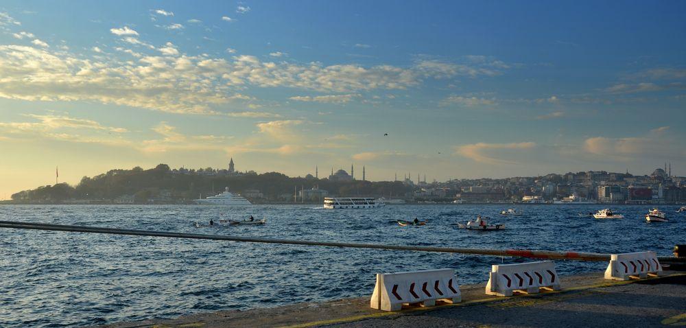 Istanbul am Hafen