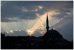 Istanbul bei Gegenlicht