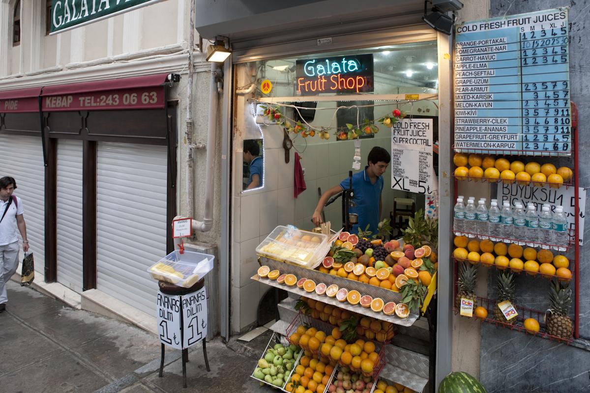 Istanbul - Fruit Shop