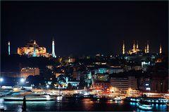 Istanbul: Hagia Sophia + Blaue Moschee