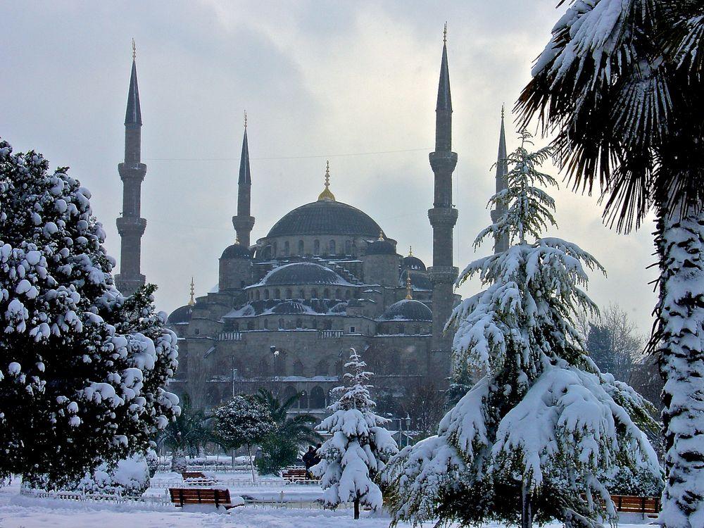 Istanbul im Schnee (1)