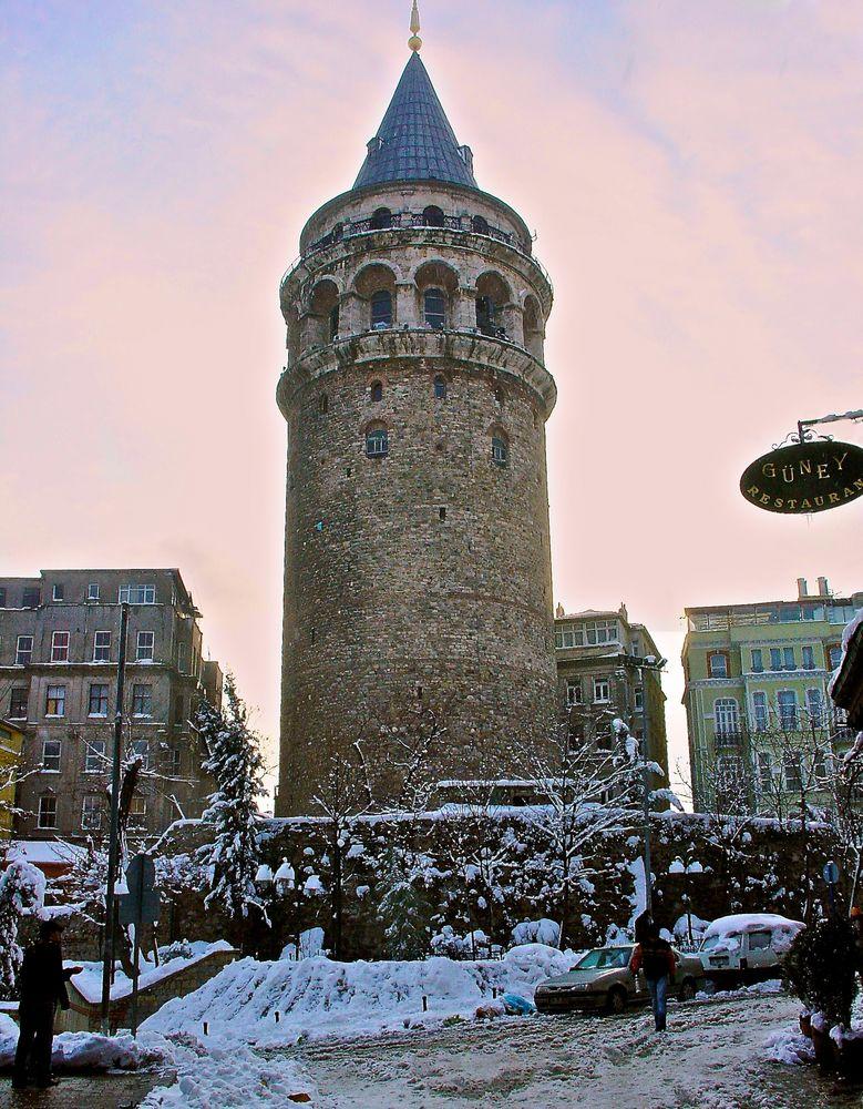 Istanbul im Schnee (4)