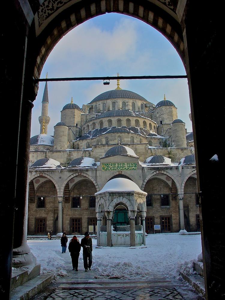 Istanbul im Schnee (5)