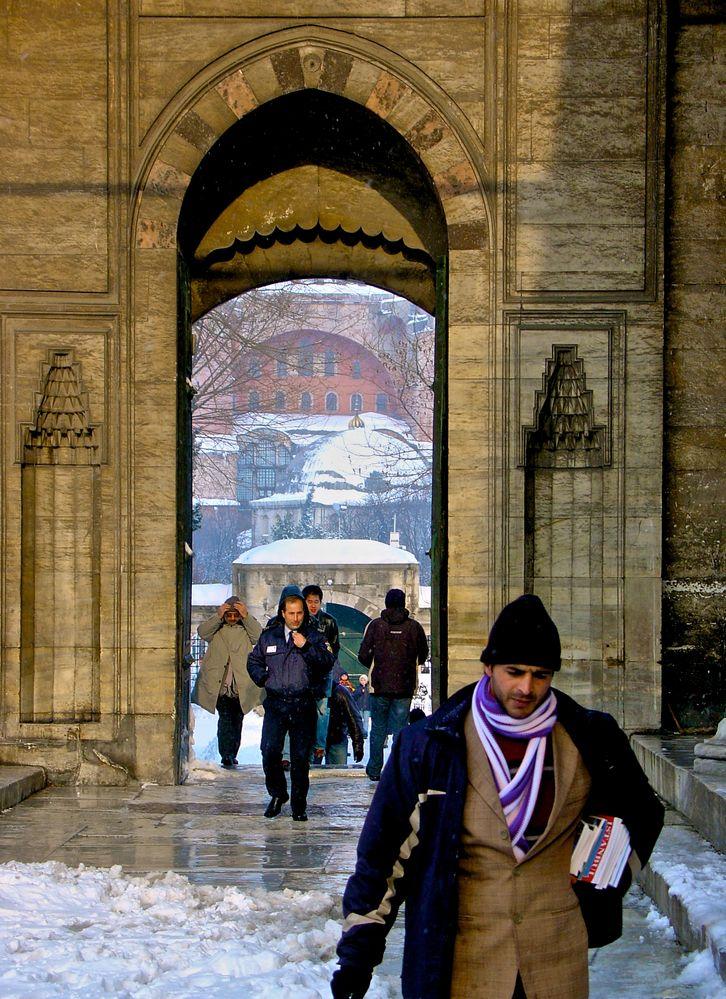 Istanbul im Schnee (8)