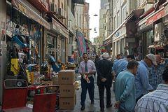 """Istanbul, im Viertel der """"Baumärkte"""""""