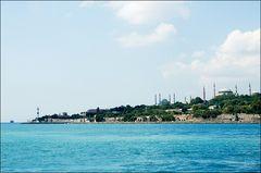 "Istanbul: Marmara Meer - Blick auf das ""Goldene Horn"""