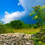 Istrische  Landschaften im Landesinneren