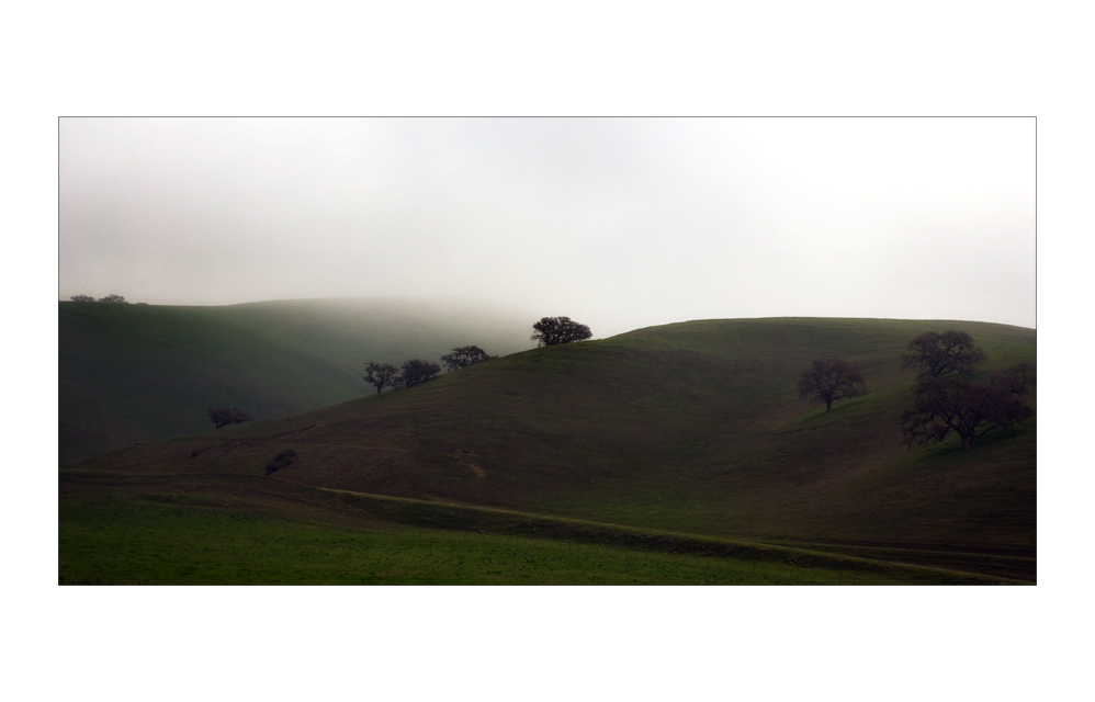 it never rains in California