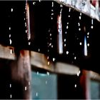 It rained.......
