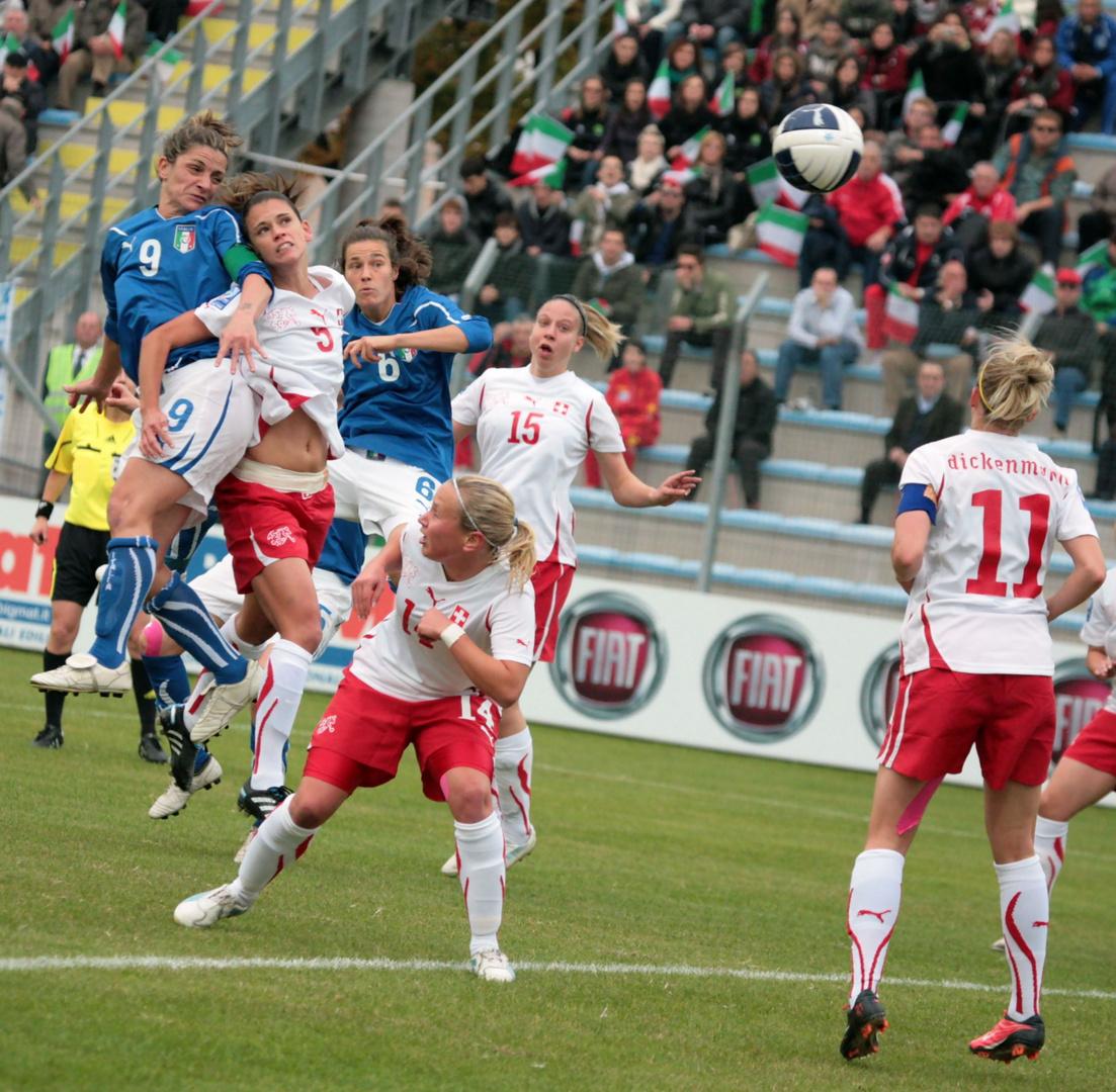 Italia-Svizzera Qualificazione Mondiale 2011