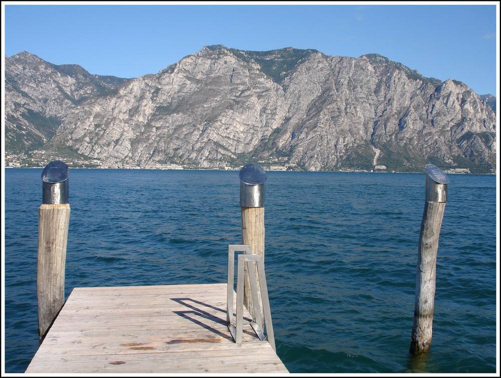 Italien - Blick auf den Gardasee