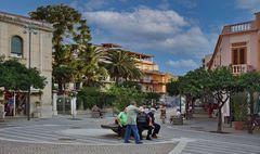 Italien Palermo  - siesta time in sicily -