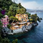 Italien / Portofino - traumhafte Villa am Meer
