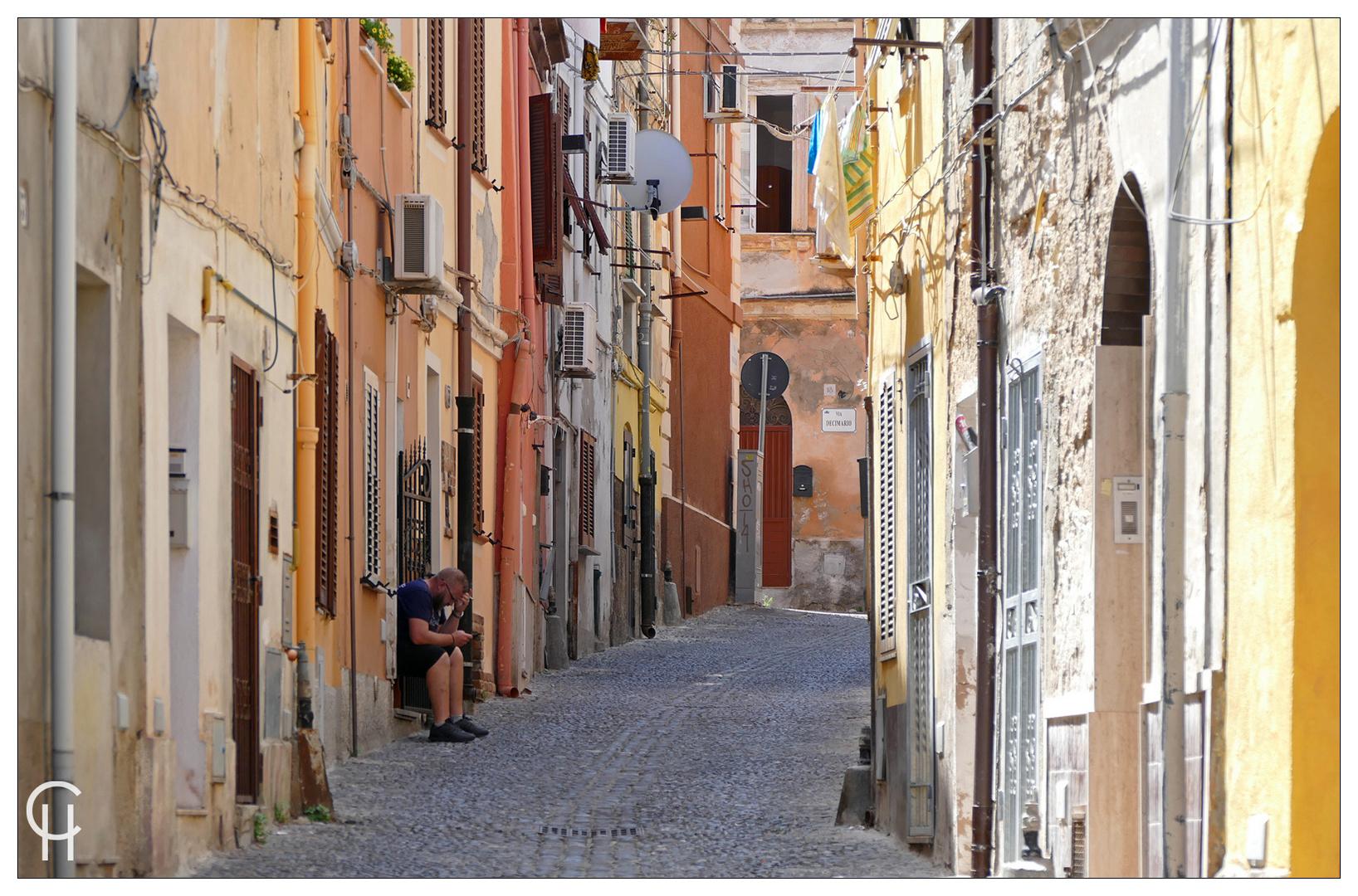Italienische Gassen - Alghero