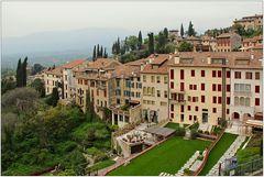Italienische Stadtlandschaft.
