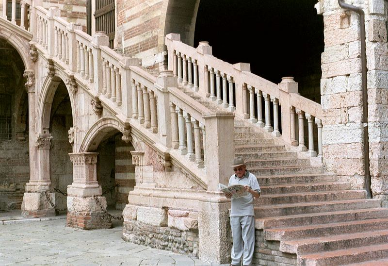 italienische Treppe