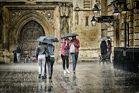 It's raining in Bath
