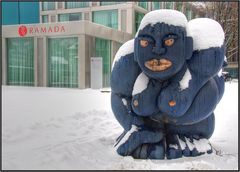 I'ts so cold today
