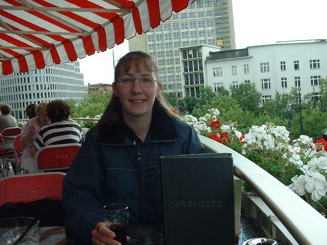 Ivonne - Cafe Kranzler Berlin !