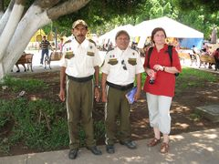 Izamal- mexican- police