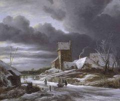 J. v. Ruisdael Winter