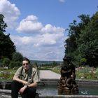 Ja v Bayreuth zahrade