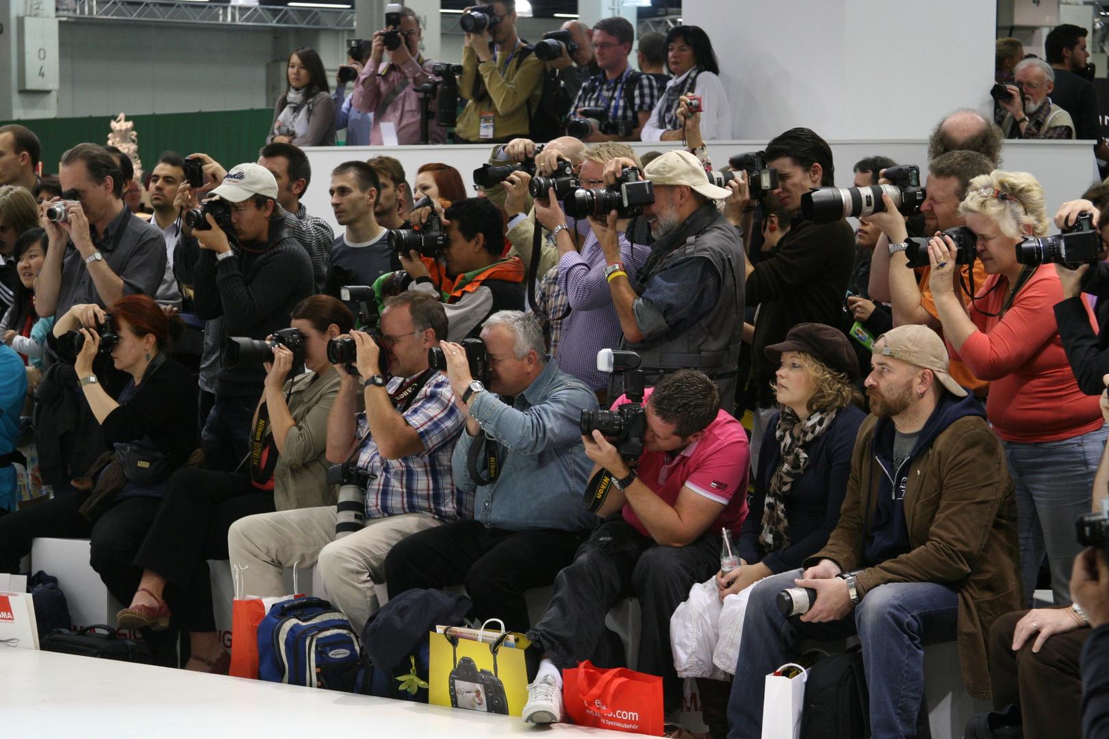 Ja wo Fotographieren Sie denn?