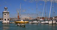 Jachthafen der Isola Giorgio Maggiore