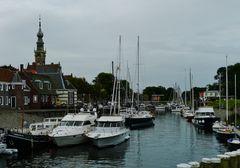 Jachthafen in Veere am Veersemeer ...