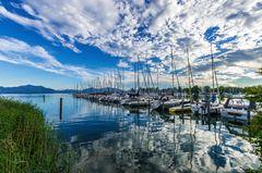 Jachthafen Seebruck