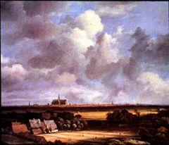 Jacob van Ruisdael, Haarlem (von den Dünen bei Overveen)