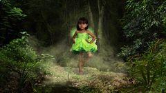 Jade im Wald
