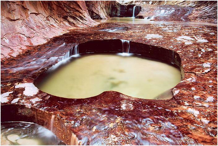 'Jade- Pool', North Creek, Utah