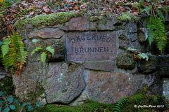 Jägerbrunnen auf dem Jägerweg Kappelwindeck (bei Bühl Baden)