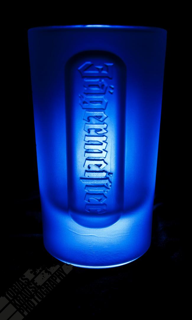 Jägermeister in Blau....
