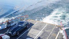 Jaguar E auf Bodensee